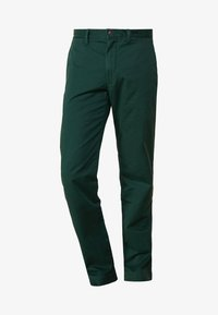 Polo Ralph Lauren - SLIM FIT BEDFORD PANT - Tygbyxor - college green - 3