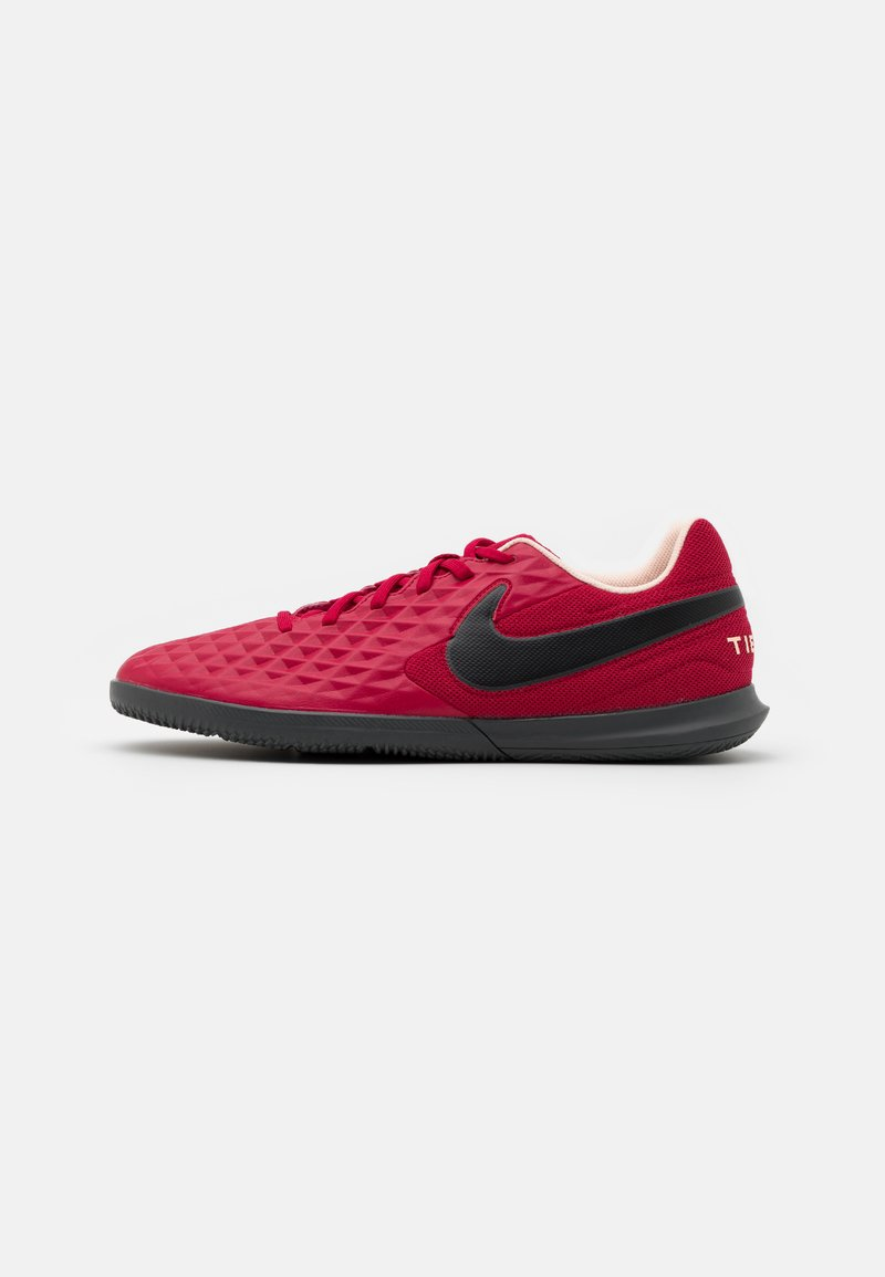 Nike Performance - TIEMPO LEGEND 8 CLUB IC - Indoor football boots - cardinal red/black/crimson tint/white