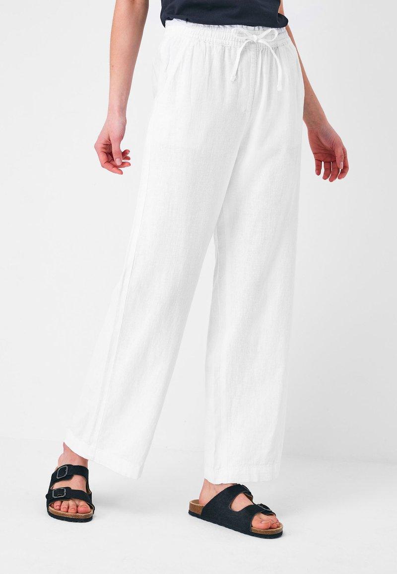 Next - Pantalones - white