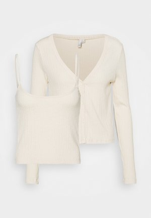 CARDIGAN SET - Top - creme