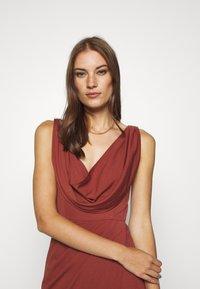LEXI - NAIDA DRESS - Occasion wear - terracotta - 3