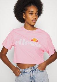 Ellesse - ALBERTA - T-shirts print - light pink - 6