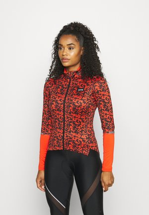 GORE® WEAR PROGRESS THERMO RAIN CAMO WOMENS - Cyklistický dres - fireball/black