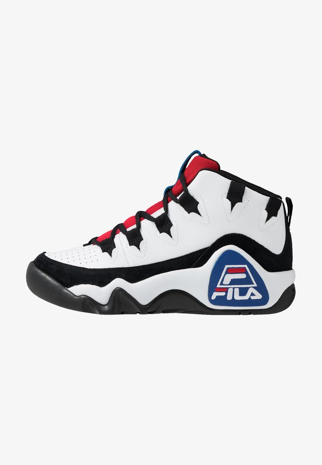 95 GRANT HILL - Zapatillas altas - white/black/red
