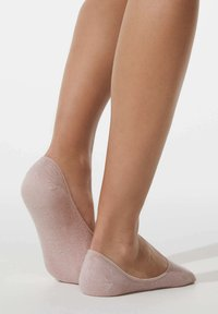 OYSHO - 3 PAIRS HEART - Trainer socks - light pink - 3