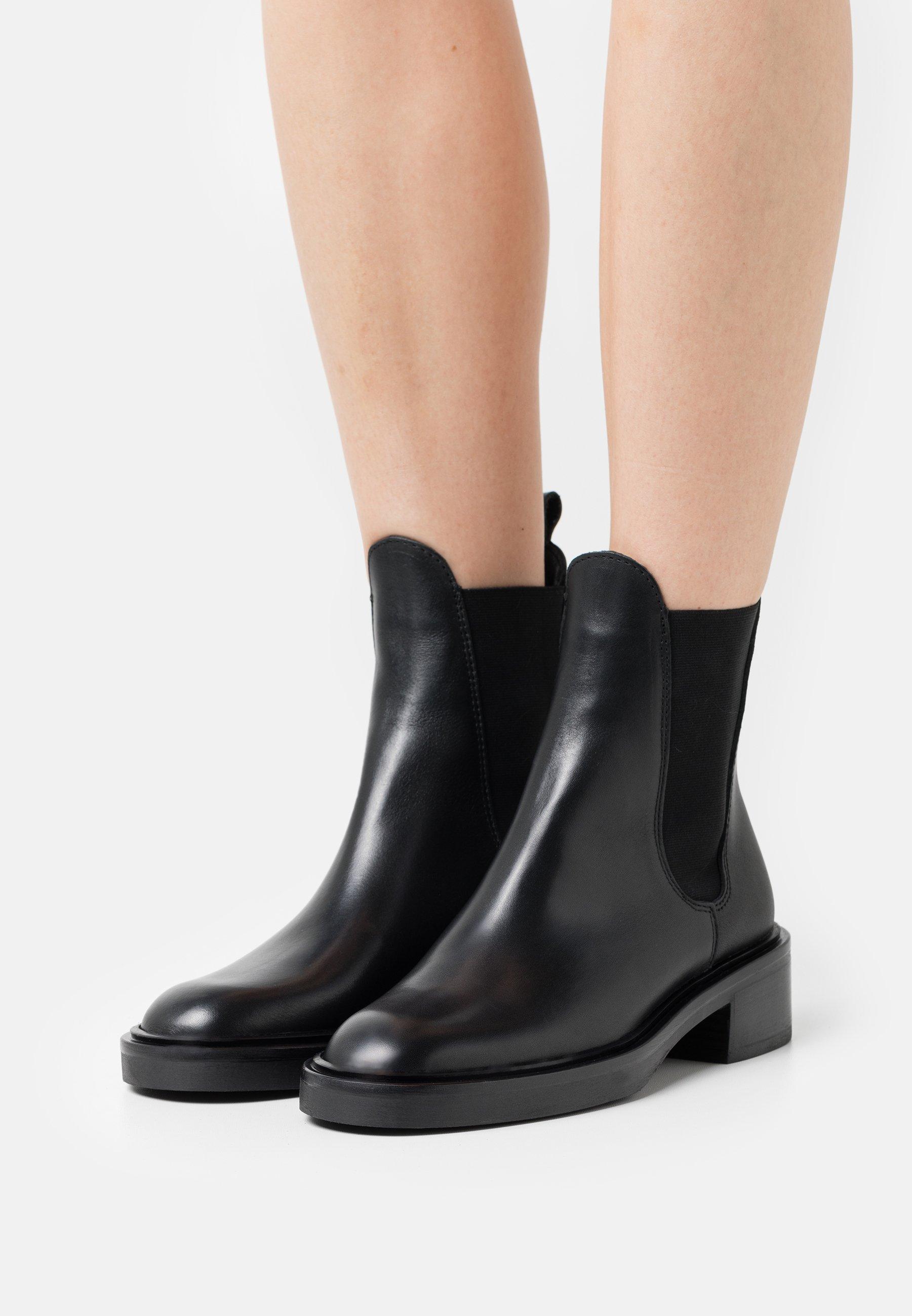 Women HIPICA - Platform ankle boots - black