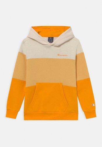 AMERICAN CLASSICS HOODED UNISEX - Sweater met rits - yellow