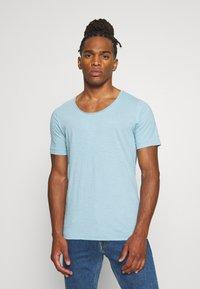 G-Star - ALKYNE SLIM  - T-shirt basic - deep sky - 0