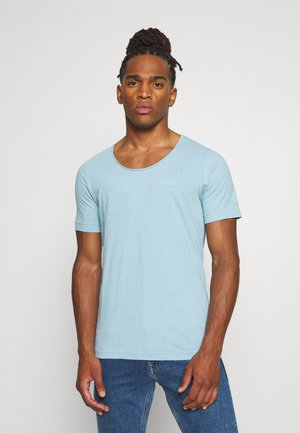 ALKYNE SLIM  - Basic T-shirt - deep sky