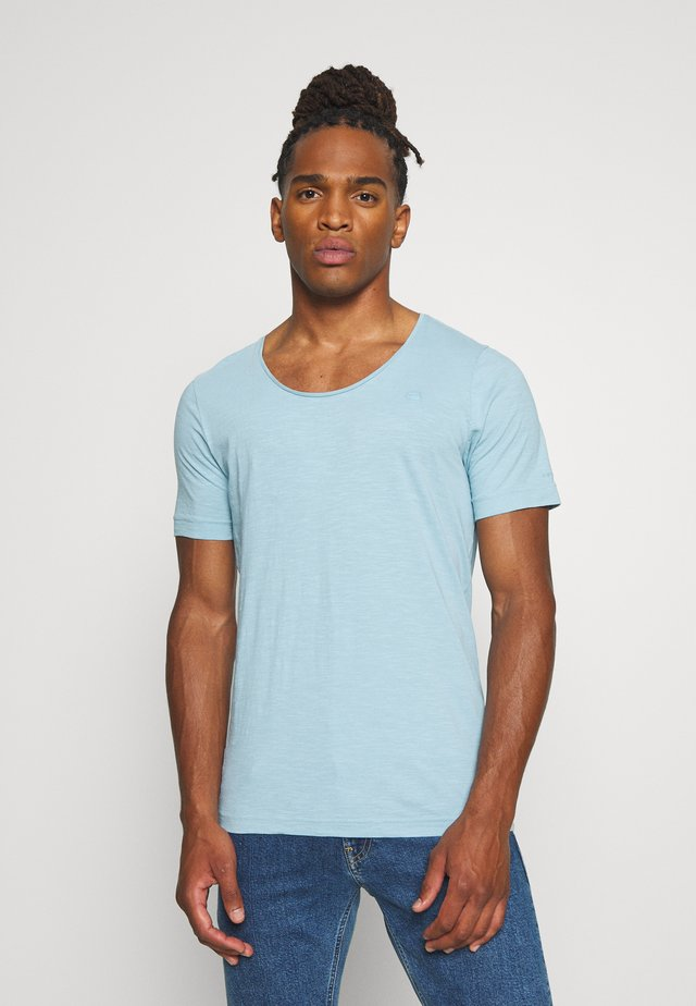 ALKYNE SLIM  - T-shirt basic - deep sky