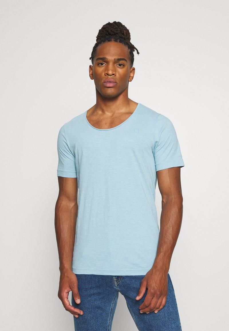 G-Star - ALKYNE SLIM  - T-shirt basic - deep sky