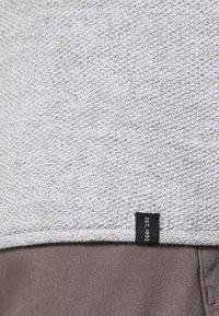 INDICODE JEANS - KRISTAN - Stickad tröja - grey mix - 5