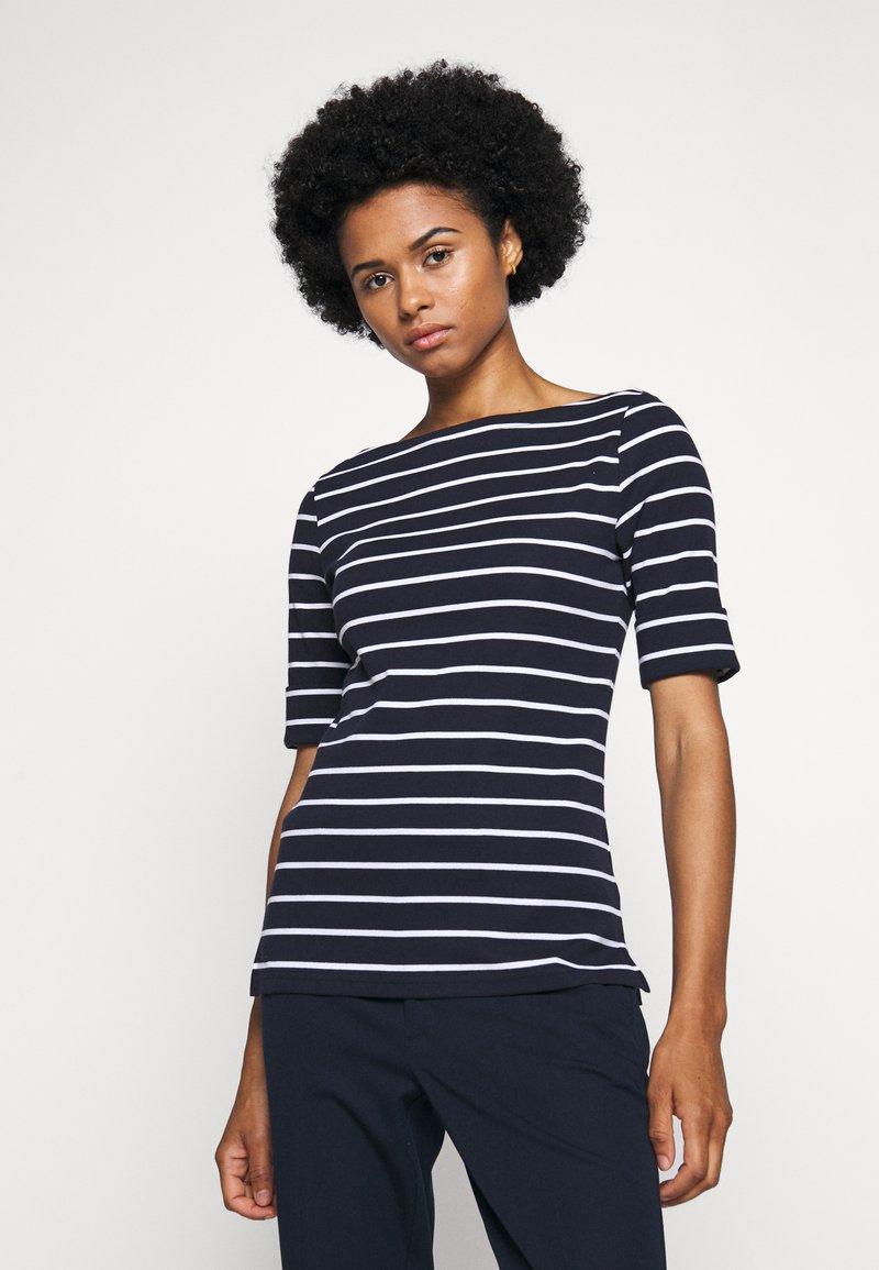 Lauren Ralph Lauren - Print T-shirt - navy/white