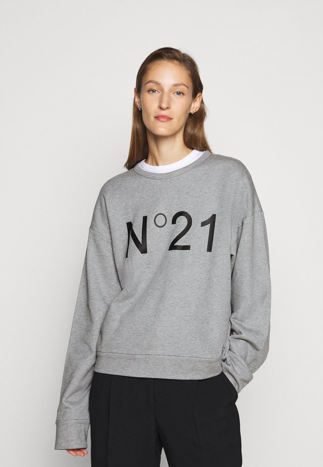 Sweater - melange grey