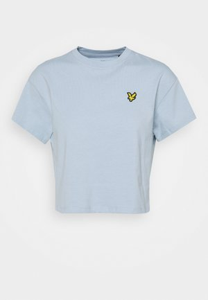 CROPPED - Basic T-shirt - blue lagoon