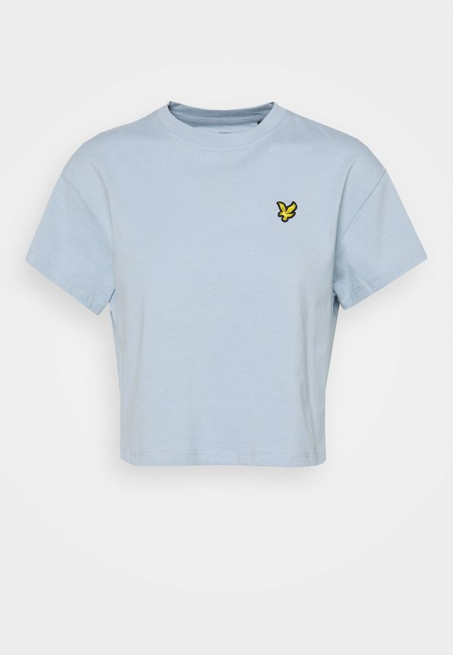 CROPPED - T-shirt basic - blue lagoon