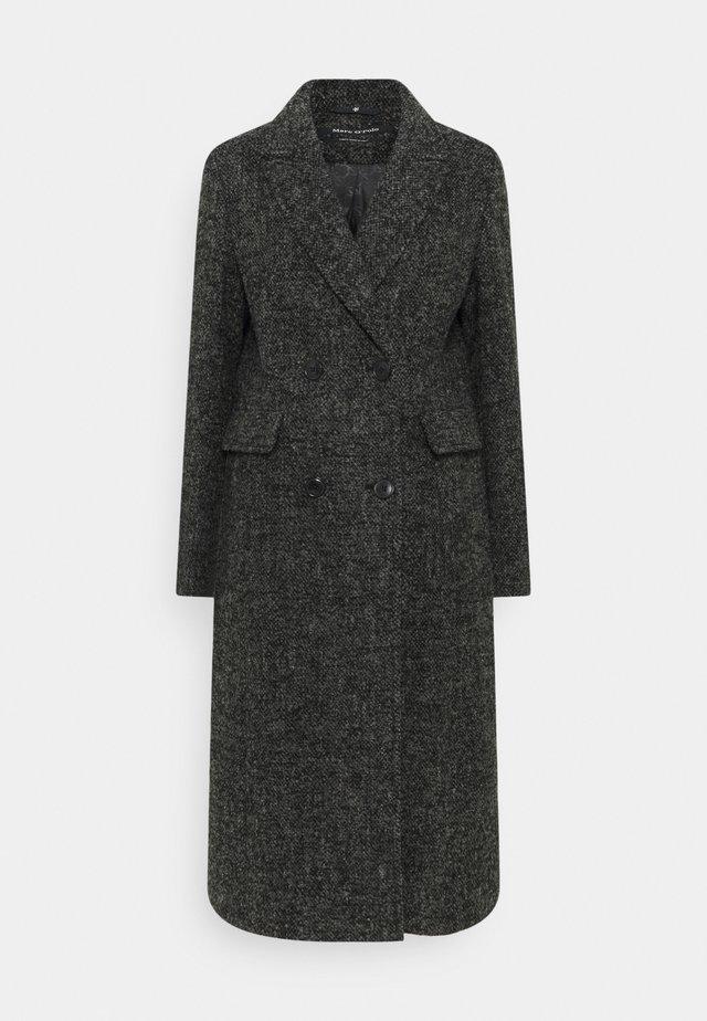 COAT PEAKED LAPEL TAILORED LONG FLAP POCKETS - Frakker / klassisk frakker - multi/dark grey