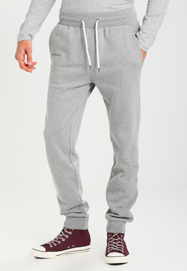 Pier One - Tracksuit bottoms - mottled grey