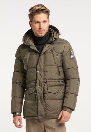 Zimní bunda - militär oliv