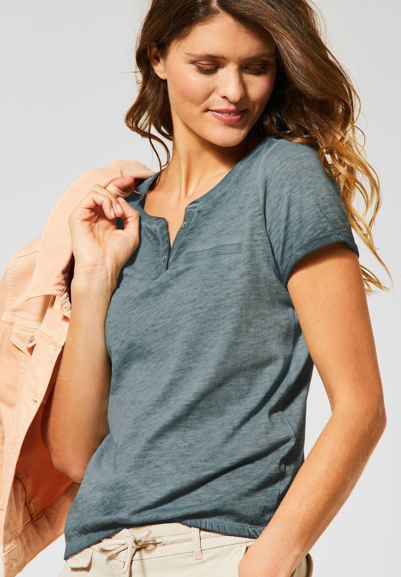 Cecil - Basic T-shirt - grün