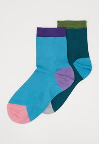 Hysteria by Happy Socks - GRACE ANKLE SOCK 2 PACK - Calcetines - multi-coloured - 0