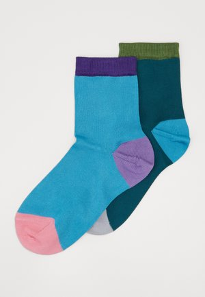 GRACE ANKLE SOCK 2 PACK - Chaussettes - multi-coloured