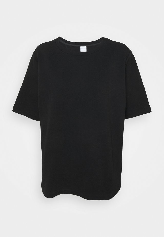 LEDA - T-Shirt basic - schwarz