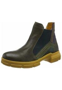 Think! - Classic ankle boots - rosmarinkombiolivgelb - 1