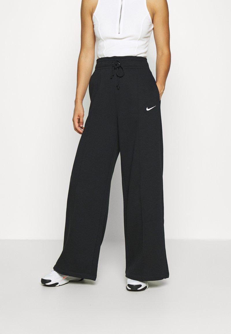 Nike Sportswear - FLC TREND HR - Joggebukse - black/white