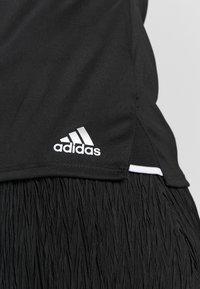 adidas Performance - CLUB TEE - Print T-shirt - black/silver/white - 6