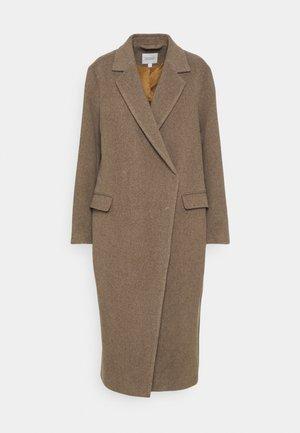 ANISSA LONG - Klasický kabát - nocciola