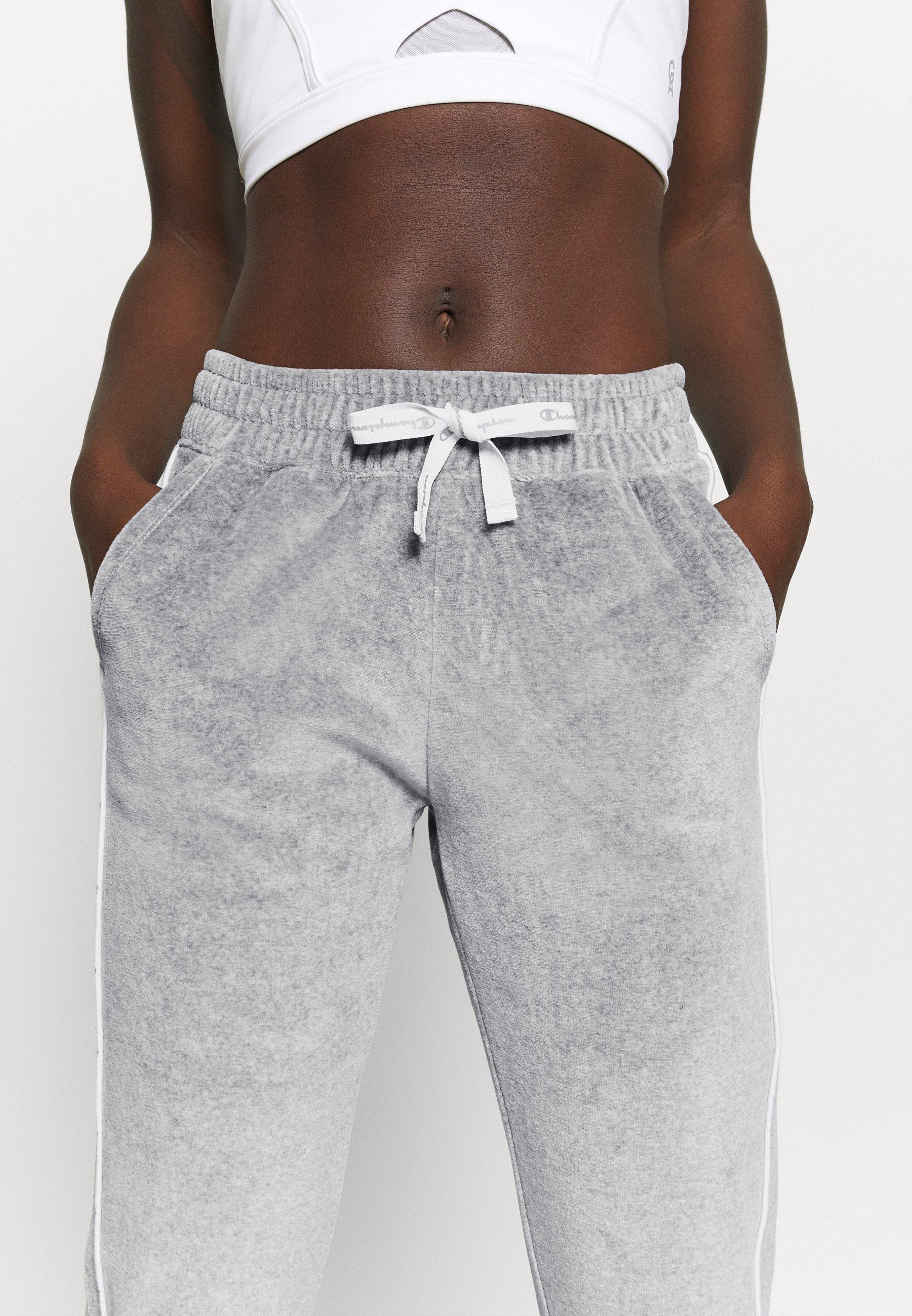 Champion CUFF PANTS LEGACY - Tracksuit bottoms - mottled grey qLhqV