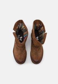 Felmini Wide Fit - GREDO - Cowboy/biker ankle boot - marvin brown - 5