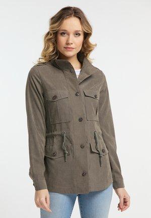 Summer jacket - dark gray