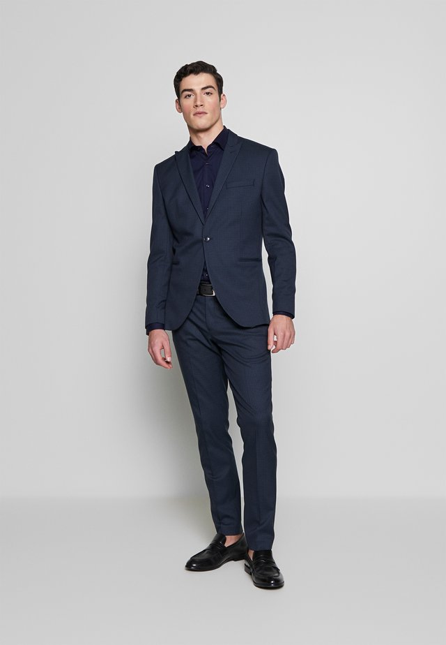 SLHSLIM ANDRE  - Suit - dark blue/green