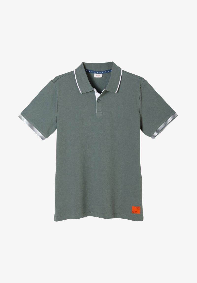 s.Oliver - Polo shirt - petrol