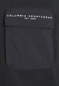 Columbia - LODGE III CREW - Sweatshirt - black - 2