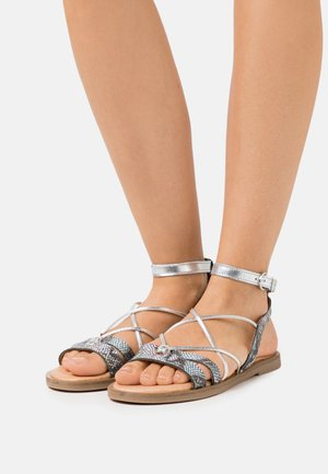 Sandals - sky/silver