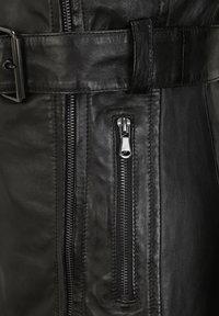 7eleven - Leather jacket - black - 4