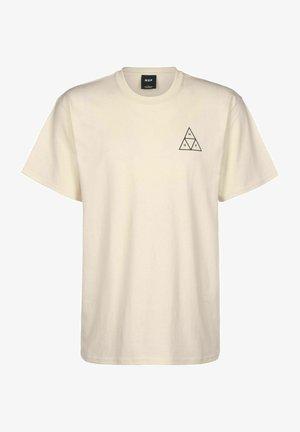 ESSENTIALS - Print T-shirt - natural