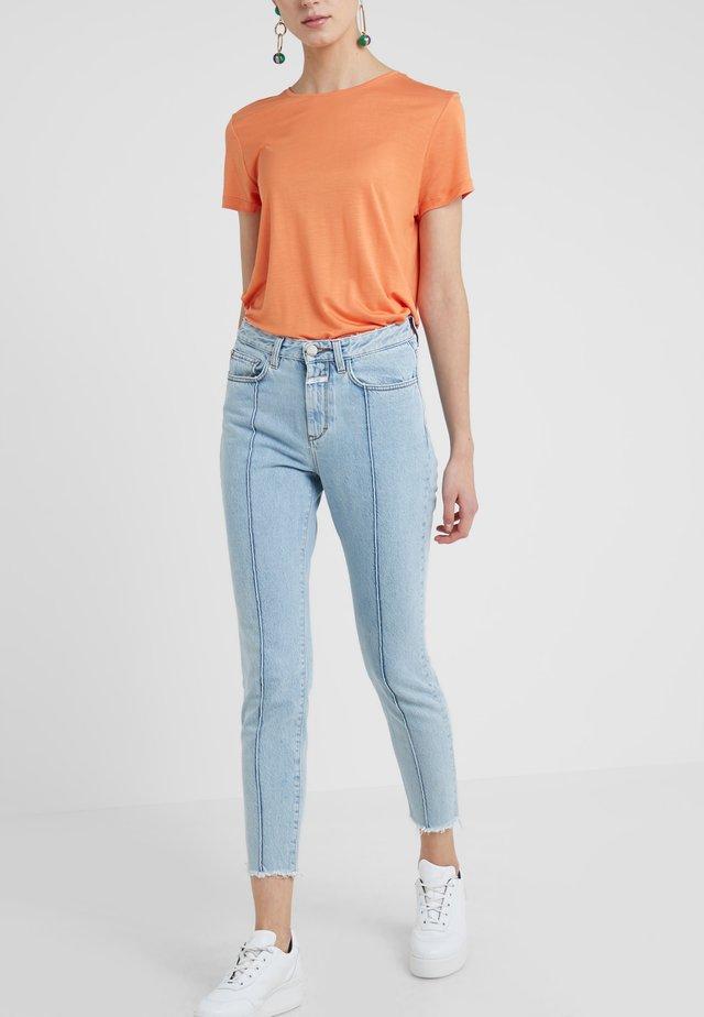 BAKER HIGH - Slim fit -farkut - light blue