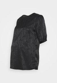 Pieces Maternity - PCMDIVINE - Blouse - black - 0