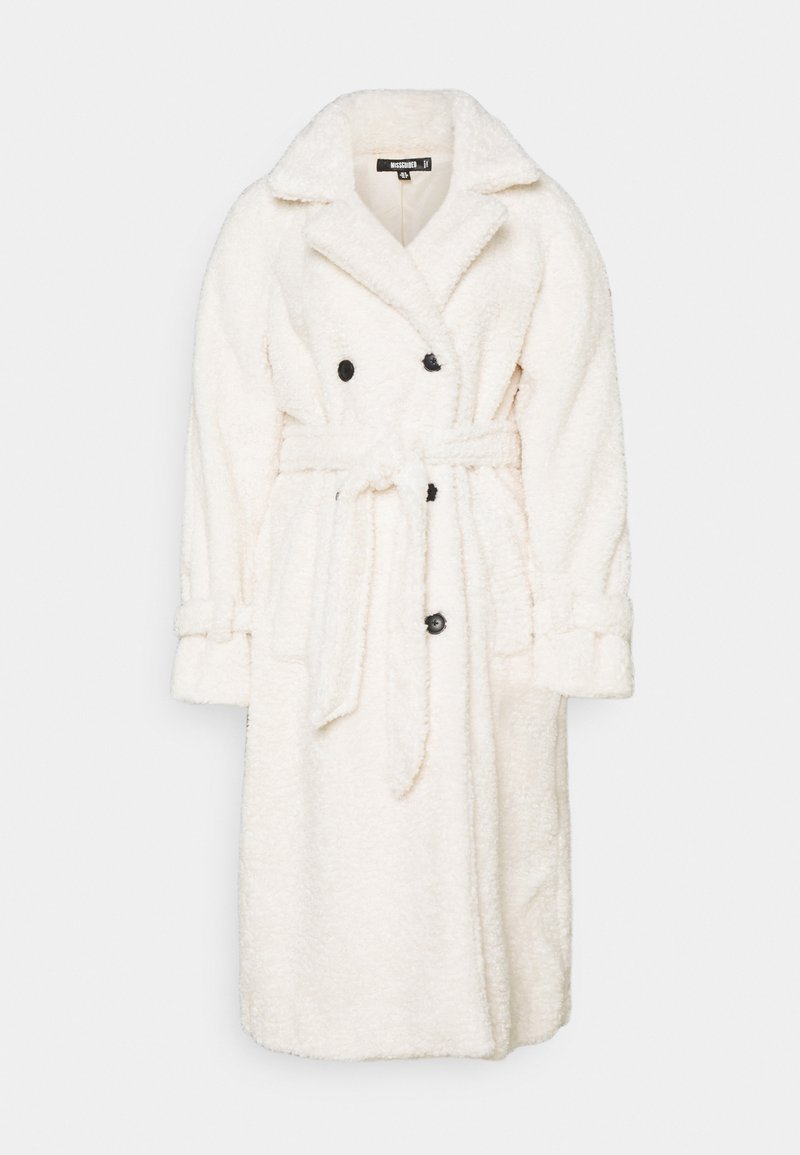 Missguided - COLLAR COAT - Trenčkot - white