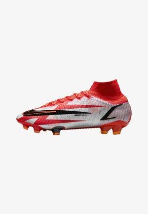 Fotbollsskor fasta dobbar - chile red/ghost/total orange/black