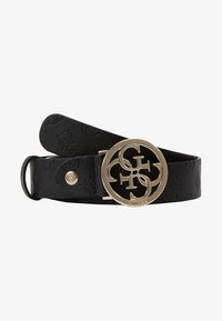 Guess - PEONY CLASSIC ADJUSTABLE BELT - Gürtel - black - 3