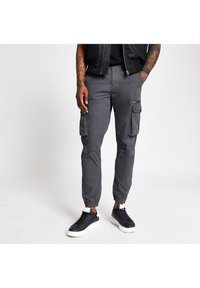 River Island - Cargo trousers - grey - 0