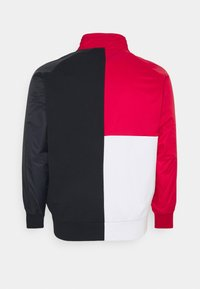 Tommy Hilfiger - MIX MEDIA COLBLOCK ZIP  - Zip-up hoodie - desert sky/primary red/white - 1