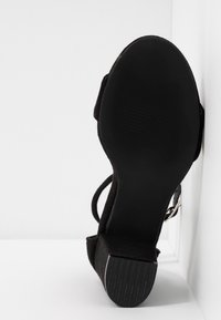 Nly by Nelly - BLOCK MID - Riemensandalette - black - 6