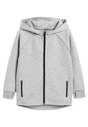 BLACK SPORTS ZIP THROUGH - Zip-up hoodie - grey