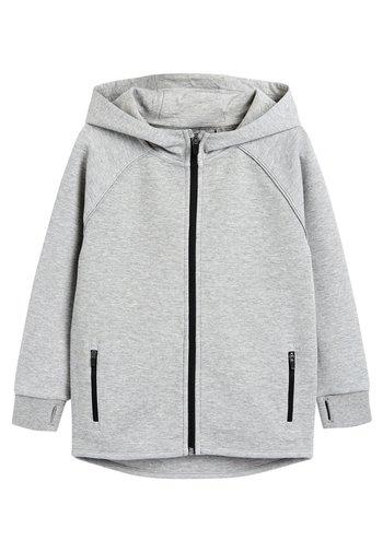 BLACK SPORTS ZIP THROUGH - Zip-up sweatshirt - grey